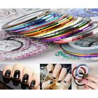 Rolls Nail DIY Strip Tape Nail Art Decoration Line Stickers For Nail Art DJNG