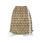 Surf Boards Retro Style Drawstring Bag - Heavy Cotton Canvas - 2 Sizes