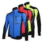 Winter Warm Thermal Cycling Long Sleeve Jacket Clothing Jersey Bike Jacket L6L4