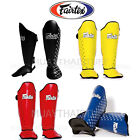 NTW Fairtex Shin Pads Muay Thai Kick Boxing SP5 Shin Guards MMA Training