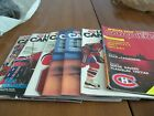 Lot of 9 Les Canadiens  - season 1989-1990  Montreal Canadians Hockey Programs