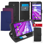 Leather Wallet Flip Stand Case For Motorola Moto G3