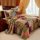 Greenland Home Antique Chic Quilt & Sham Bonus Set, Twin, Full/Queen Or King