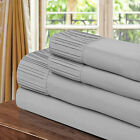 Chic Home Pleated Microfiber Sheet Silver - Twin, Full, Queen, King