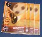 WORKSOP TOWN VARIOUS HOME PROGRAMMES 2003-2009