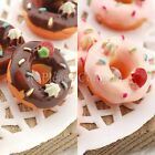 30 Kawaii Resin Donuts with Strawberry Cabochon Decoden Charm