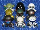 Star Wars Mini Muggs Complete Set of 9 Action Figures in Excellent Condition