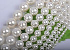 """White Mother Pearl Shell beads 4mm 6mm 8mm 10mm 12mm 14mm 16mm 18mm 20mm 15"""""""