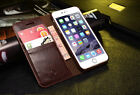 Leather Flip Wallet Stand Case Cover Skin For Iphone5/5s/se/6s/Samsung Galaxy