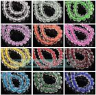 New Colors 6mm 8mm 50pcs Rondelle Faceted Crystal Glass Loose Spacer Beads Lot