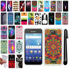 For Kyocera Hydro Wave C6740/ Air C6745 TPU SILICONE Protective Case Cover + Pen