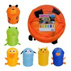 Instant PopUp Design Children's Laundry Bag - in 6 Animal Styles