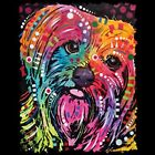 Yorkshire Terrier Neon Ladies Womens Tank Top Pick Your Size