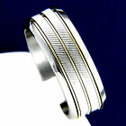 New Men's Stainless Steel Engagement Wedding Bridal Band Ring