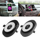 Wireless Car Air Vent Mount Charger Charging Pad Car Holder for iPhone Samsung
