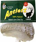 ANTLERZ All Natural Dog Chew Deer Antler Treat Toy - Naturally Shed - 4 Sizes