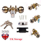 Good Quality Stainless Steel Door Knobs Handle Lock Set Passage Entrance Privacy