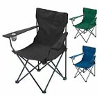 Set of 2 Folding Camping Chair Portable Fishing Beach Outdoor Garden Chairs