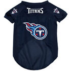 NEW TENNESSEE TITANS PET DOG FOOTBALL JERSEY ALL SIZES ALTERNATE STYLE $17.95 USD on eBay