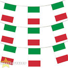 ITALY EURO FOOTBALL 2016 COUNTRY BUNTING 33FT LARGE FLAG DECORATION 20 FLAGS