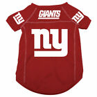 NEW YORK GIANTS PET DOG MESH FOOTBALL JERSEY ALTERNATE RED LARGE $17.95 USD on eBay