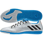 adidas 16.3 IN Messi 2016 Indoor Soccer Shoes Silver - Blue - Black Kids - Youth