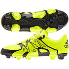 adidas X 15.3 TRX FG / AG 2015 Soccer Shoes Cleats New Yellow / Black Kids Youth