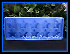 Pampered Chef New Blue STAR Shaped Ice Cube Tray Jello Mold Fourth Of July