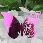 50x Butterfly Table Place Setting Name Cards Wedding Favours Party Table Decor