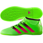 adidas Ace 16.3 Primemesh IN Indoor 2016 Soccer Shoes Green / Pink Kids - Youth