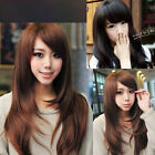 1Pc Hot Unisex Doll Hairpiece Cosplay Wigs Long Straight Hair Wig Gift 3 Colors