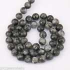 1 Bunch Black Flash Stone line Agate Gem Loose Bead Pendant Necklace Jewelry