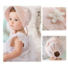 Princess Lace Floral Baby Girls Beanie Cap Sunhats Adjustable Visor Summer Cap