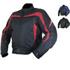 ARMR MOTO MIURA CE APPROVED MOTORCYCLE MOTORBIKE WATERPROOF ARMOUR SHORT JACKET
