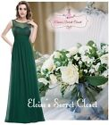 KEZIA Emerald Green Sparkle Prom Evening Cruise Ballgown Dress UK Sizes 8 - 20