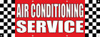 auto air condition service - Air Conditioning Service Auto Body Shop Car DECAL STICKER Retail Store Sign