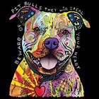Beware of the Pit Bulls T Shirt Pick Your Size
