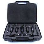 Drum Microphones Set: &#039;Nordell&#039; 7 Pce Mic Kit, 5 Rim Clips, 7 XLR Cables + Case <br/> Inside: Why you will LOVE these mics as much as we do!