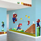 Removable Funny Wall stickers Super Mario for Kid Toy nursery Bedroom Decoration