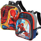 "MARVEL SPIDERMAN Kids Boys School 12"" Backpack Bag NEW"