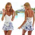 Fashion Women Bodycon Summer Casual Party Evening Cocktail Lace Short Mini Dress