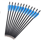 """LongbowMaker  21"""" Crossbow Bolts Crossbow Carbon Arrows Hunting Archery Hunter"""
