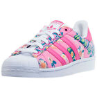 adidas Superstar W Womens Trainers Pink Multicolour