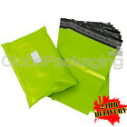 "1000 x Strong NEON GREEN 18x24"" Mailing Postal Postage Bags 18""x24"" (450x600mm)"