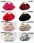 Women's Beading Sequined Handbag Clutch Party Bridal Evening Bag Hand Purse Make