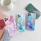 Hard PC Marble Granite Texture Glossy Case Cover For Apple iPhone 8 7 6S Plus X