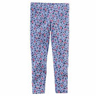 Carters 9 Months Blue Floral Leggings Baby Toddler Girl Clothes Pants