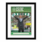 Personalised Celtic FC Football Club Magazine Cover Print With Any Name