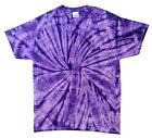 Tie Dyed T-Shirt: Purple Spider, SALE PRICE... AND... Free Shipping!