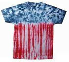 Tie Dyed T-Shirt: Patriotic, SALE PRICE... AND... Free Shipping!
